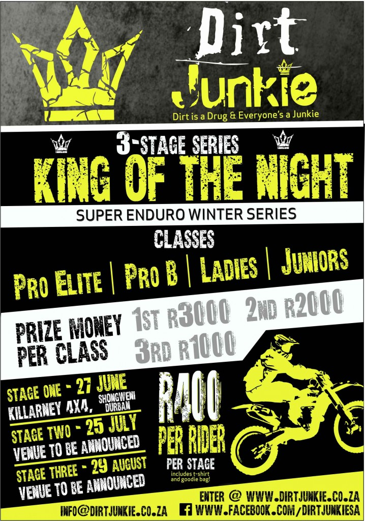dirtjunkie flyer prize money